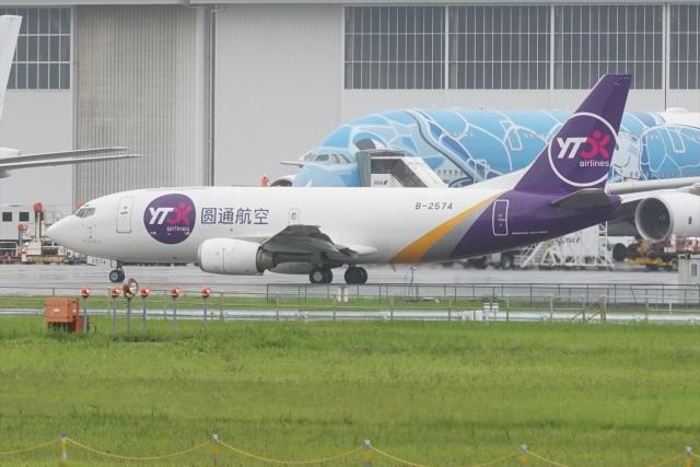 HEATHROWさんが、成田国際空港で撮影したYTOカーゴ・エアラインズ 737-37Kの航空フォト(飛行機 写真・画像)