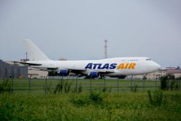 ユキモリさんが、横田基地で撮影したアトラス航空 747-412(BCF)の航空フォト(飛行機 写真・画像)