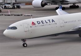 M.Ochiaiさんが、羽田空港で撮影したデルタ航空 A330-941の航空フォト(飛行機 写真・画像)