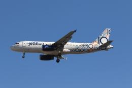 takoyanさんが、マッカラン国際空港で撮影したジェットブルー A320-232の航空フォト(飛行機 写真・画像)