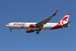 takoyanさんが、マッカラン国際空港で撮影したエア・カナダ・ルージュ 767-316/ERの航空フォト(飛行機 写真・画像)