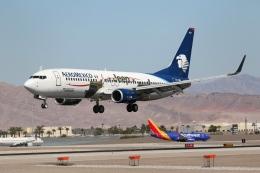 takoyanさんが、マッカラン国際空港で撮影したアエロメヒコ航空 737-852の航空フォト(飛行機 写真・画像)