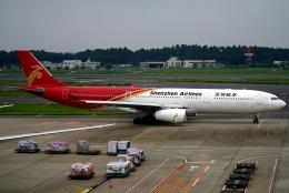 SFJ_capさんが、成田国際空港で撮影した深圳航空 A330-343Xの航空フォト(飛行機 写真・画像)