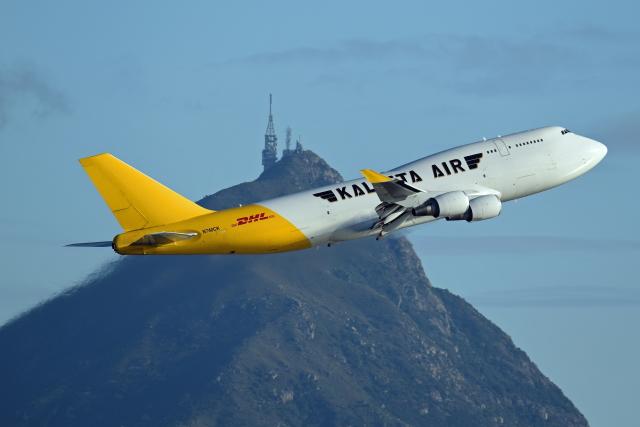 Souma2005さんが、香港国際空港で撮影したカリッタ エア 747-4H6M(BCF)の航空フォト(飛行機 写真・画像)
