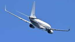 オキシドールさんが、岩国空港で撮影したアメリカ海軍 C-40A Clipper (737-7AFC)の航空フォト(飛行機 写真・画像)