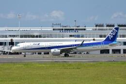 ワイエスさんが、鹿児島空港で撮影した全日空 A321-272Nの航空フォト(飛行機 写真・画像)