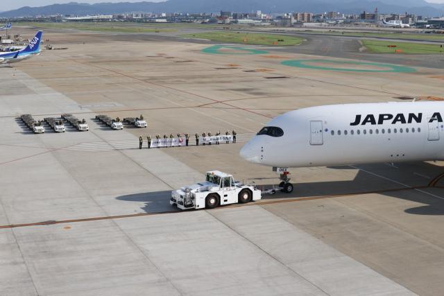 JA1118Dさんが、福岡空港で撮影した日本航空 A350-941の航空フォト(飛行機 写真・画像)