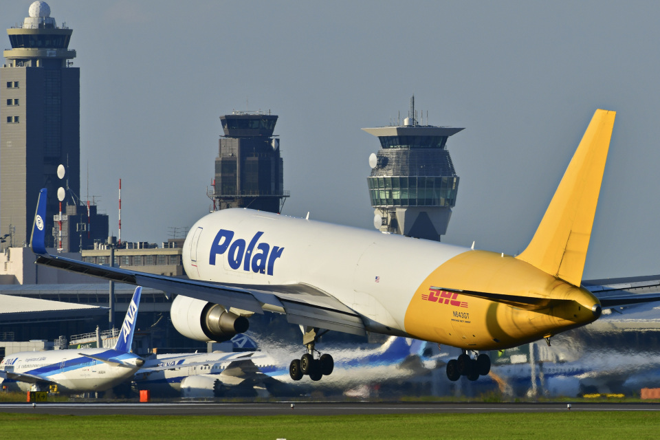 パンダさんのポーラーエアカーゴ Boeing 767-300 (N643GT) 航空フォト