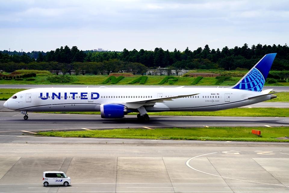 SFJ_capさんのユナイテッド航空 Boeing 787-10 (N14011) 航空フォト