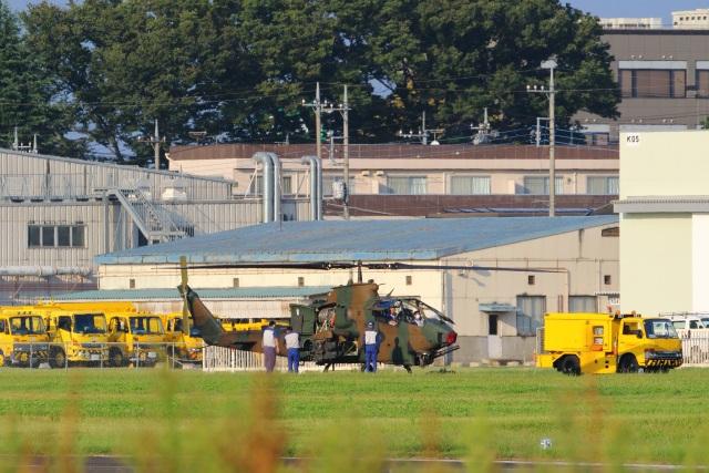 レガシィさんが、宇都宮飛行場で撮影した陸上自衛隊 AH-1Sの航空フォト(飛行機 写真・画像)