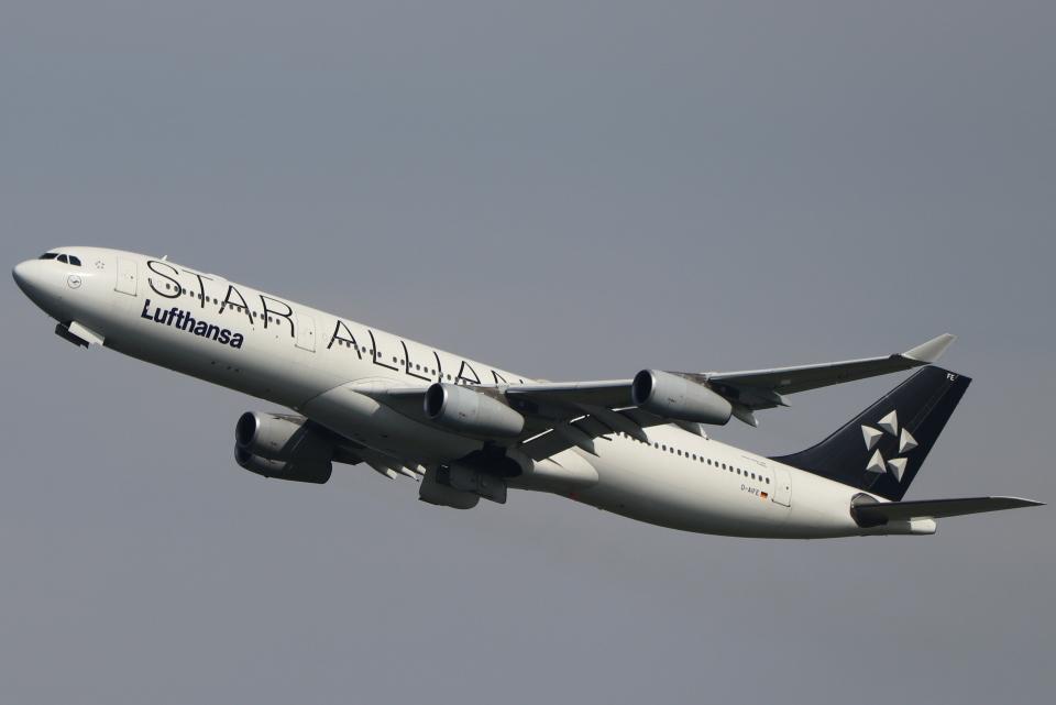 imosaさんのルフトハンザドイツ航空 Airbus A340-300 (D-AIFE) 航空フォト