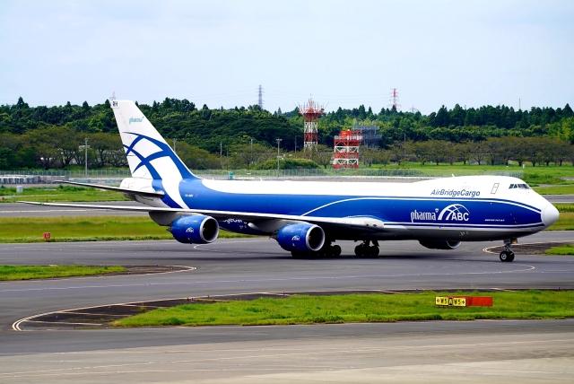 SFJ_capさんが、成田国際空港で撮影したエアブリッジ・カーゴ・エアラインズ 747-8HVFの航空フォト(飛行機 写真・画像)