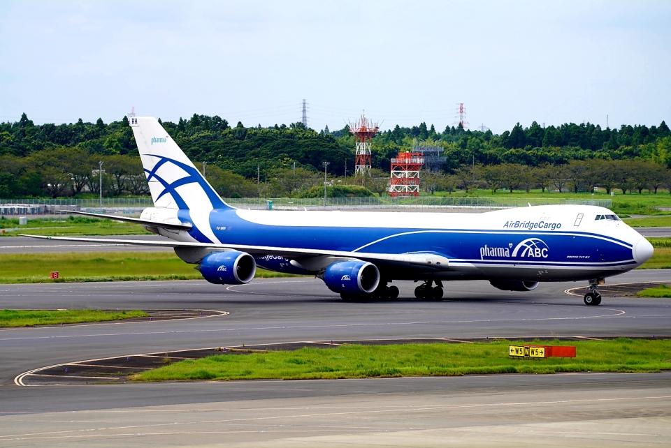 SFJ_capさんのエアブリッジ・カーゴ・エアラインズ Boeing 747-8 (VQ-BRH) 航空フォト