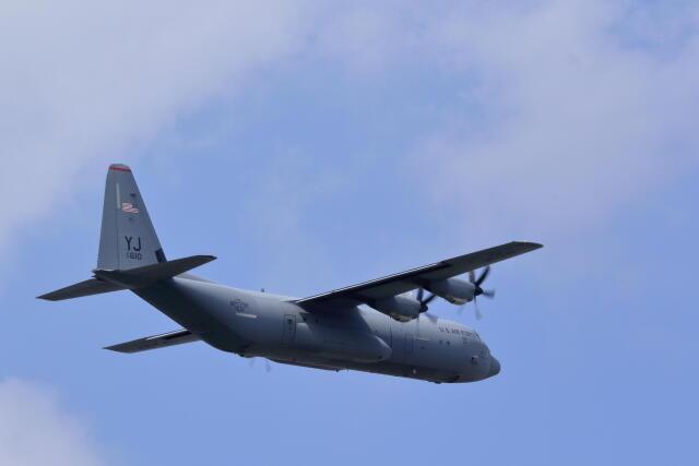 バイクオヤジさんが、横田基地で撮影したアメリカ空軍 C-130J-30 Herculesの航空フォト(飛行機 写真・画像)