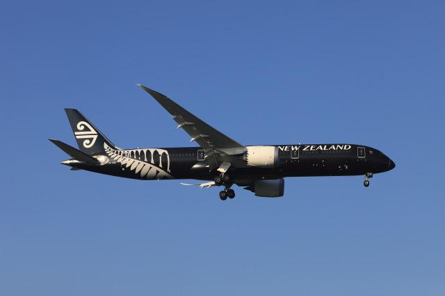 マーサさんが、成田国際空港で撮影したニュージーランド航空 787-9の航空フォト(飛行機 写真・画像)