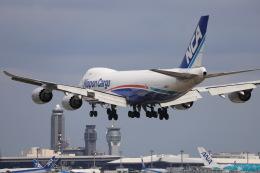 マーサさんが、成田国際空港で撮影した日本貨物航空 747-8KZF/SCDの航空フォト(飛行機 写真・画像)