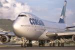 Airliners Freakさんが、プリンセス・ジュリアナ国際空港で撮影したコルセールフライ 747-206Bの航空フォト(飛行機 写真・画像)