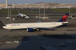 SIさんが、羽田空港で撮影したデルタ航空 A330-941の航空フォト(飛行機 写真・画像)