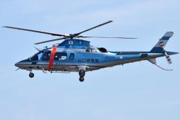 jun☆さんが、名古屋飛行場で撮影した山口県警察 A109E Powerの航空フォト(飛行機 写真・画像)