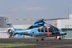 KAZFLYERさんが、東京ヘリポートで撮影した警視庁 EC155B1の航空フォト(飛行機 写真・画像)