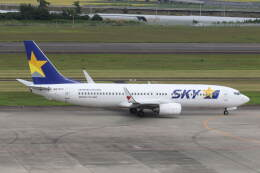 プルシアンブルーさんが、仙台空港で撮影したスカイマーク 737-8FZの航空フォト(飛行機 写真・画像)