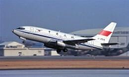 ハミングバードさんが、名古屋飛行場で撮影した中国民用航空局 737-2T4/Advの航空フォト(飛行機 写真・画像)