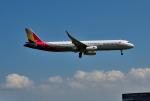 mojioさんが、成田国際空港で撮影したアシアナ航空 A321-231の航空フォト(飛行機 写真・画像)