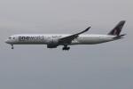 青春の1ページさんが、成田国際空港で撮影したカタール航空 A350-1041の航空フォト(飛行機 写真・画像)