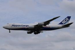 Timothyさんが、成田国際空港で撮影した日本貨物航空 747-8KZF/SCDの航空フォト(飛行機 写真・画像)