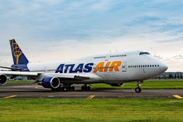 new_2106さんが、横田基地で撮影したアトラス航空 747-446の航空フォト(飛行機 写真・画像)