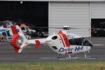 KAZFLYERさんが、東京ヘリポートで撮影した中日本航空 EC135P1の航空フォト(飛行機 写真・画像)