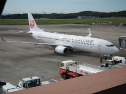 ヒコーキグモさんが、岡山空港で撮影した日本航空 737-846の航空フォト(飛行機 写真・画像)