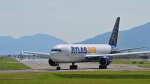 オキシドールさんが、岩国空港で撮影したアトラス航空 767-31A/ERの航空フォト(飛行機 写真・画像)