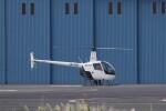 KAZFLYERさんが、東京ヘリポートで撮影した日本フライトセーフティ R22 Beta IIの航空フォト(飛行機 写真・画像)
