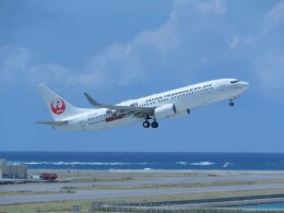Tradel View FUKUROさんが、那覇空港で撮影した日本トランスオーシャン航空 737-8Q3の航空フォト(飛行機 写真・画像)