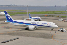 KKiSMさんが、羽田空港で撮影した全日空 787-8 Dreamlinerの航空フォト(飛行機 写真・画像)