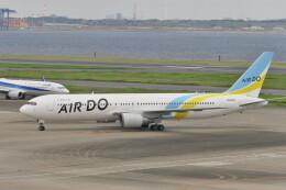 KKiSMさんが、羽田空港で撮影したAIR DO 767-381/ERの航空フォト(飛行機 写真・画像)