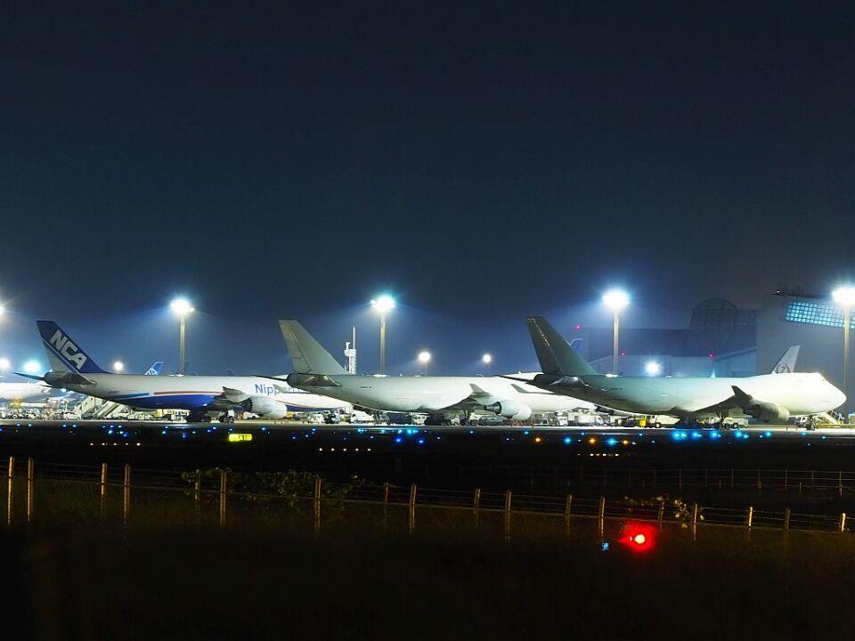 ladyinredさんのアトラス航空 Boeing 747-400 (N405KZ) 航空フォト