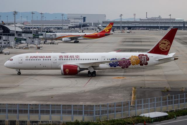 A.Tさんが、関西国際空港で撮影した吉祥航空 787-9の航空フォト(飛行機 写真・画像)
