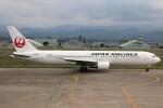 もにーさんが、小松空港で撮影した日本航空 767-346/ERの航空フォト(飛行機 写真・画像)