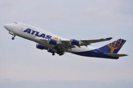 デルタおA330さんが、横田基地で撮影したアトラス航空 747-481(BCF)の航空フォト(飛行機 写真・画像)
