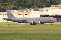キイロイトリさんが、嘉手納飛行場で撮影したアメリカ空軍 KC-135R Stratotanker (717-148)の航空フォト(飛行機 写真・画像)