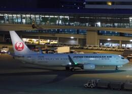 まひろさんが、中部国際空港で撮影した日本トランスオーシャン航空 737-8Q3の航空フォト(飛行機 写真・画像)