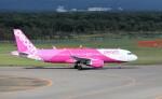 ハム太郎。さんが、新千歳空港で撮影したピーチ A320-214の航空フォト(飛行機 写真・画像)