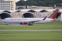 キイロイトリさんが、嘉手納飛行場で撮影したオムニエアインターナショナル 767-323/ERの航空フォト(飛行機 写真・画像)