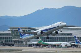 accheyさんが、福岡空港で撮影した全日空 A321-272Nの航空フォト(飛行機 写真・画像)