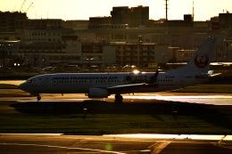 M.airphotoさんが、福岡空港で撮影した日本トランスオーシャン航空 737-8Q3の航空フォト(飛行機 写真・画像)