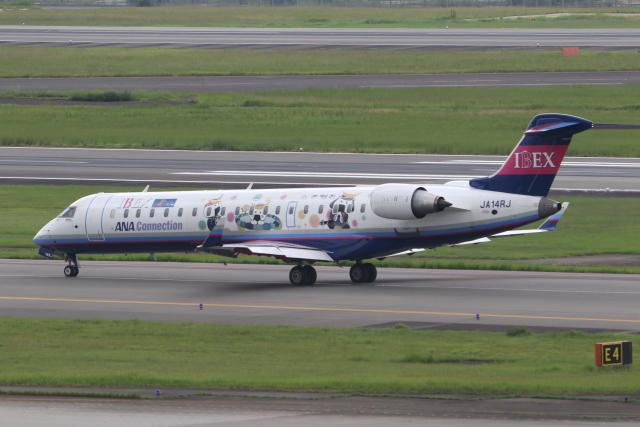 ANA744Foreverさんが、伊丹空港で撮影したアイベックスエアラインズ CL-600-2C10 Regional Jet CRJ-702ERの航空フォト(飛行機 写真・画像)
