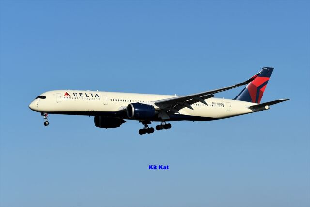 キットカットさんが、成田国際空港で撮影したデルタ航空 A350-941の航空フォト(飛行機 写真・画像)