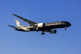 01yy07さんが、成田国際空港で撮影したニュージーランド航空 787-9の航空フォト(飛行機 写真・画像)